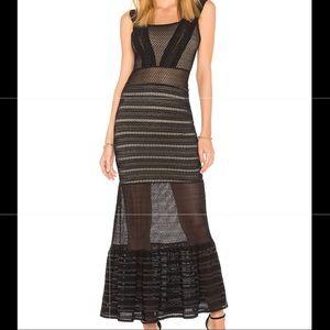 Nightcap - Long Black Lace Dress